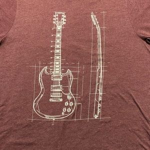 Gibson SG Guitar Graphic Tee